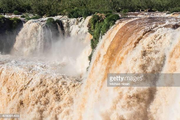 The Devils Throat (Garganta del Diablo), Iguazu Falls National Park, UNESCO World Heritage Site, Misiones, Argentina, South America
