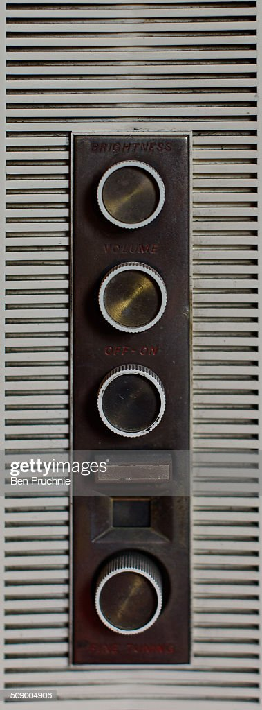 A the dials of an old television are displayed in a recreation of Jimi Hendrix's bedroom as it is displayed as part of the Handel and Hendrix exhibition on February 8, 2016 in London, England. The permanent exhibtion in the former London home of Jimi Hendrix celebrates the lives of Jimi Hendrix and George Frideric Handel who also lived in the property next door in the 1700s.