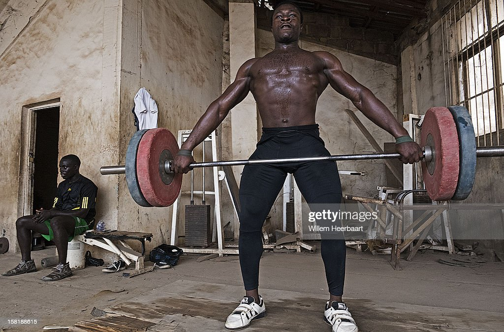 The difference between most western Gyms and most African Gyms is stunning, amazing how athletes under these circumstances are able to reach a professional level with their skills. Benin City Stadium and Gymnasium.