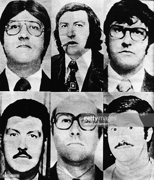 The different faces of Jacques Mesrine a French bankrobber and kidnapper hunted by the police throughout France He was assassinated in Paris in the...