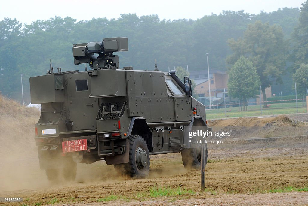 The Dingo 2 in use by the Belgian Army.