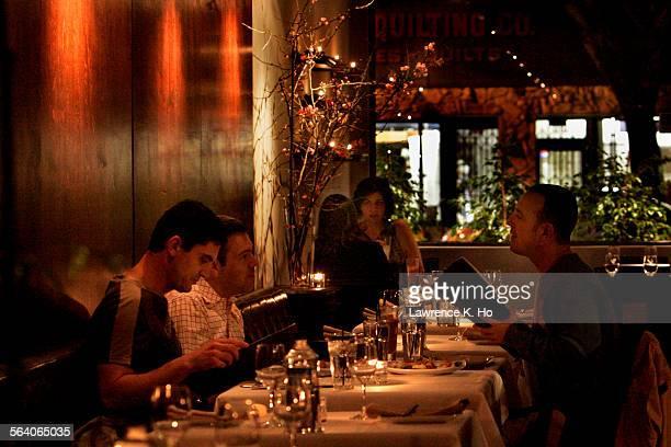 The dining area of Naraya Thai restaurant a small elegant date–night spot on S Robertson Blvd