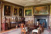 The Dining Parlour, The Vyne, Hampshire.