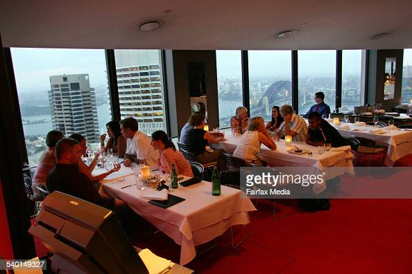Summit restaurant sydney stock photos and pictures getty for The dining room sydney