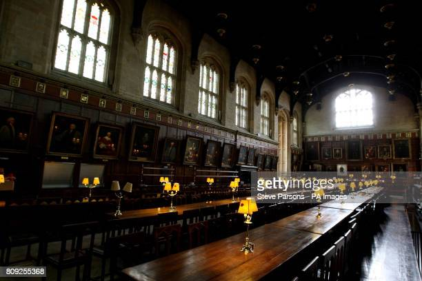 The Dinning Hall at Christ Church College in Oxford The Universities Dinning Hall is well know to Harry Potter fans as they based the dinning hall at...