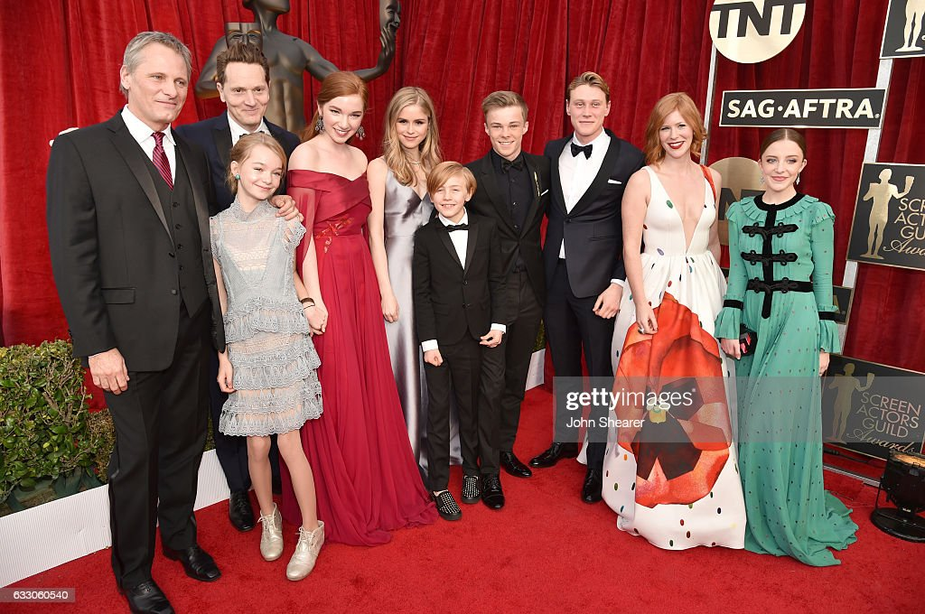 The director and cast of 'Captain Fantastic' attends The 23rd Annual Screen Actors Guild Awards at The Shrine Auditorium on January 29, 2017 in Los Angeles, California.
