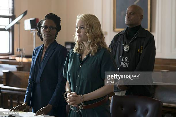 THE BLACKLIST 'The Director Conclusion' Episode 310 Pictured Megan Boone as Liz Keen