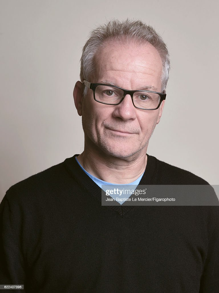 The director of the Institut Lumière and of the Cannes Film Festival, Thierry Fremaux is photographed for Madame Figaro on September 8, 2016 at the Toronto Film Festival in Toronto, Canada.