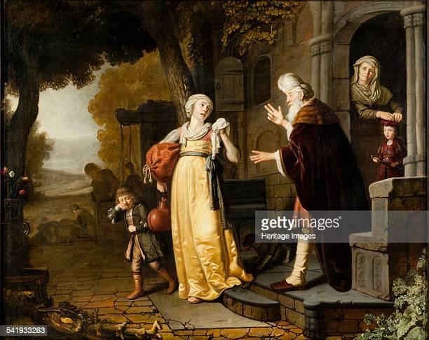 The dismissal of Hagar' 16391676 Artist Jan Victors