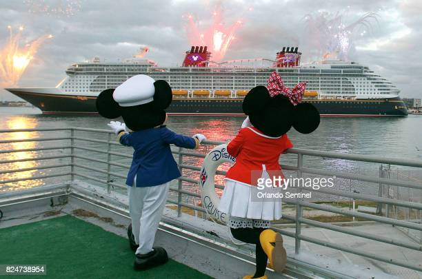 The Disney Dream arrives at Port Canaveral Fla on January 4 2011