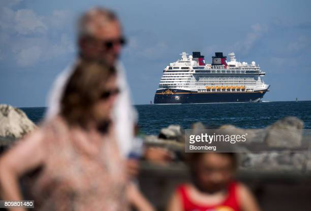 The Disney Dream cruise ship leaves from Port Canaveral in Cape Canaveral Florida US on Wednesday July 5 2017 The US Census Bureau released trade...