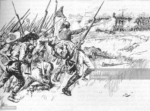 The Division Under Alvarado Was Crossing The Low Ground 1902 The Battle of Maipu was a battle fought near Santiago Chile on April 5 1818 between...