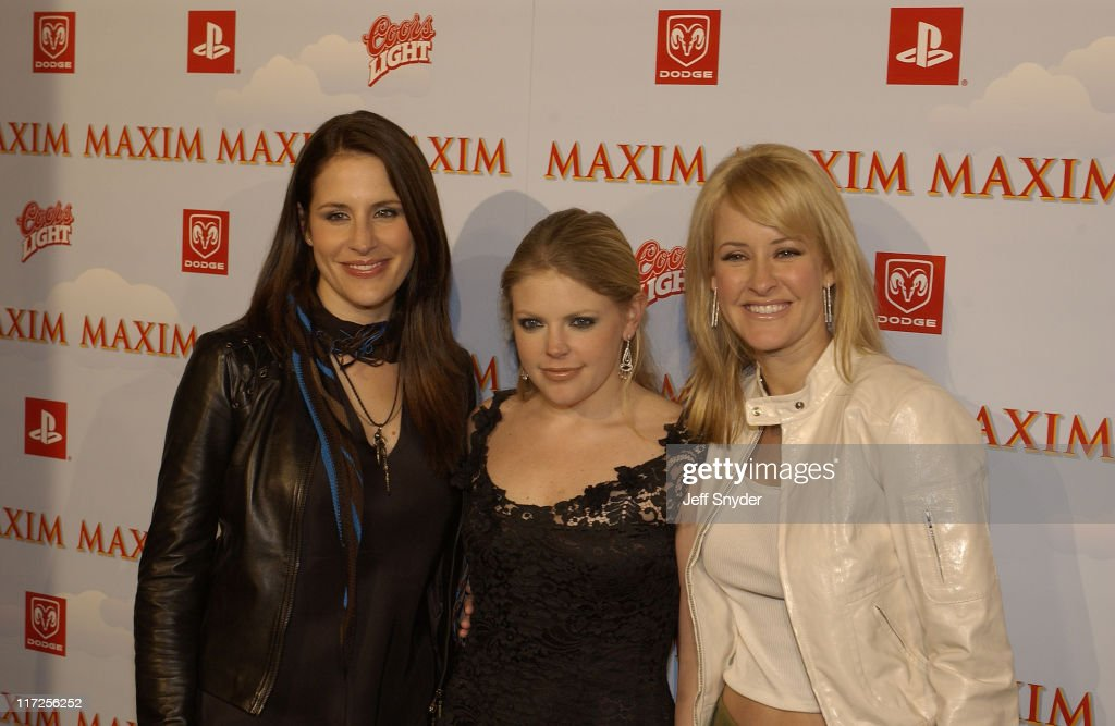 The Dixie Chicks during The Maxim Party at Super Bowl XXXVII at The Old Wonderbread Factory in San Diego, CA.
