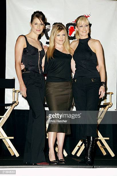 The Dixie Chicks made an appearance on July 21 2003 in Santa Monica at the Hotel Casa Del Mar to help Rock the Vote launch a new online voter...