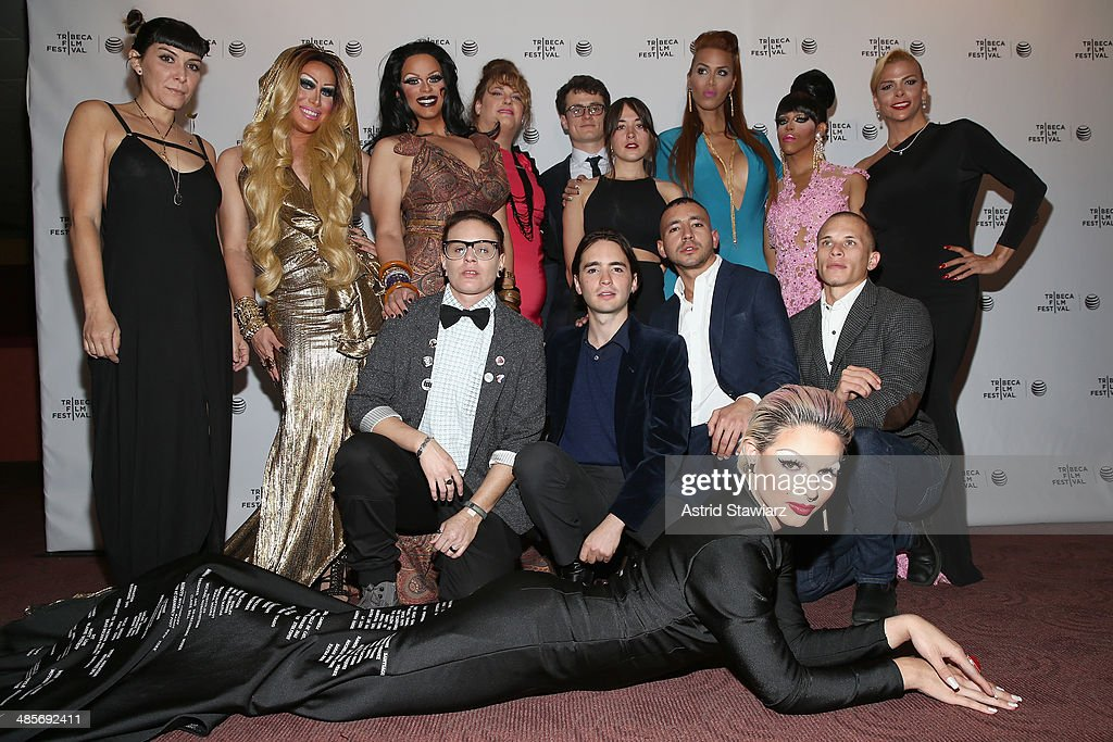 The documentary crew and subjects of 'Mala Mala' attend the 'Mala Mala' Premiere during the 2014 Tribeca Film Festival at Chelsea Bow Tie Cinemas on April 19, 2014 in New York City.