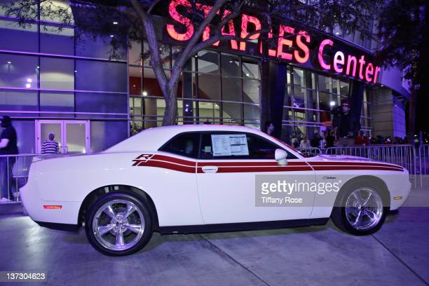 The Dodge Challenger car received by Connor Cruise for his 17th birthday during his birthday party benefiting Children's Miracle Network Hospitals...