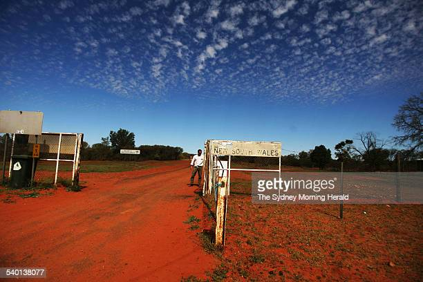 The dog fence at Hungerford a town made famous by Henry Lawson who in summer 189293 walked from there to Bourke in peak drought 13 September 2006 SMH...