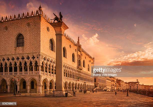 The Doges Palace in San Marco Square