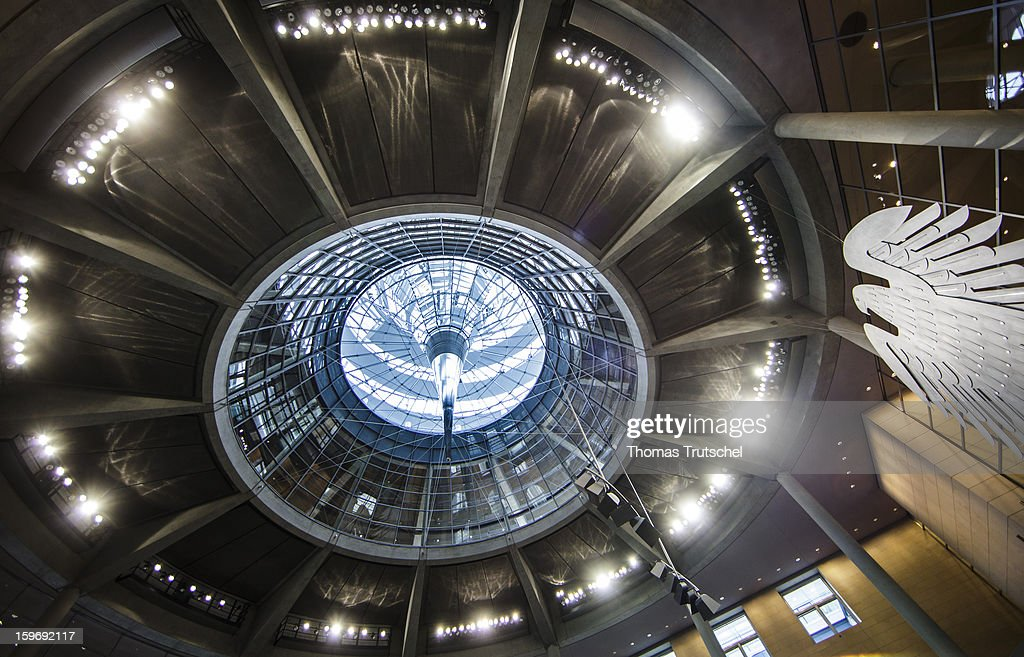 The dome of Reichstag, the seat of the German Parliament (Bundestag) is seen on January 18, 2013 in Berlin.