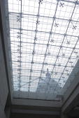 The dome of the Capitol is visible through the skylights in the Great Hall in the Capitol Visitor Center on Friday April 27 2007