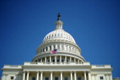 The dome of the US Capitol is pictured in Washington DC on April 6 2011 Republican US House Speaker John Boehner told US President Barack Obama he...