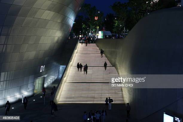 CONTENT] The Dongdaemun Design Plaza Park is a large urban development project in Dongdaemun Seoul South Korea that includes a park exhibition spaces...