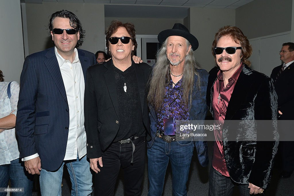 The Doobie Brothers attend the 2014 CMT Music awards at the Bridgestone Arena on June 4, 2014 in Nashville, Tennessee.