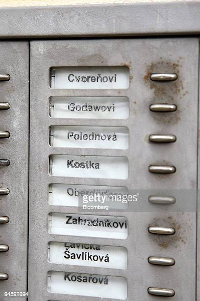 Apartment Doorbell Stock Photos and Pictures | Getty Images
