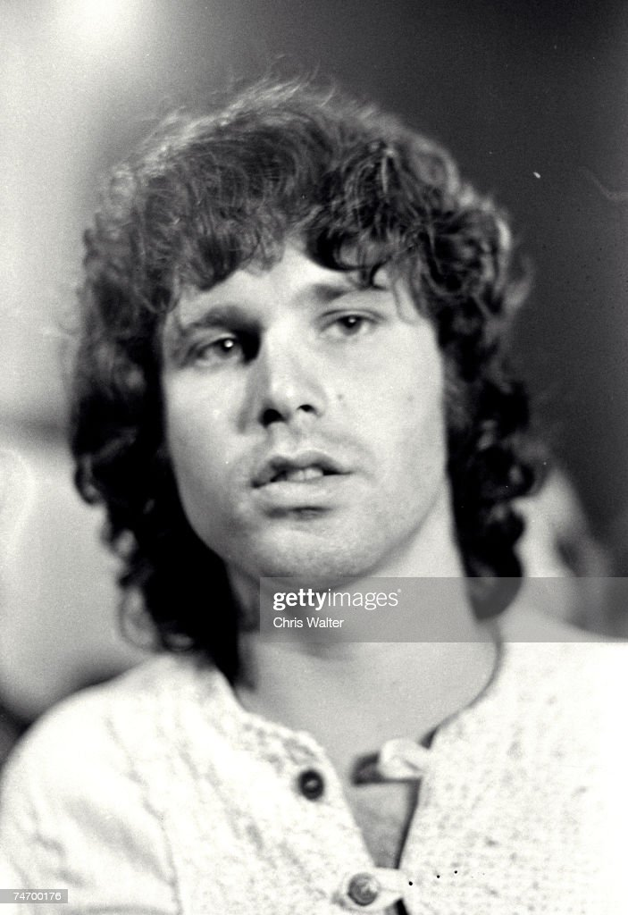 The Doors 1968 Jim Morrison in London United Kingdom.