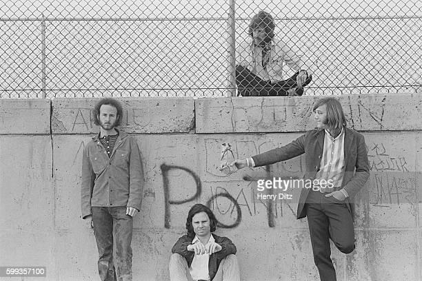Robbie Krieger Jim Morrison John Densmore and Ray Manzarek