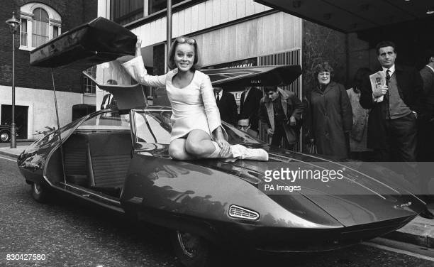The Doppelganger built especially for the Gerry Anderson film of the same name The young lady on the bonnet is Austrian actress Loni Von Friedl who...