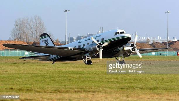 The Douglas DC3Dakota at Coventry airport Friday December 9 2005 on the aircraft's 70th anniversary The aircraft shown which is flown by Air...