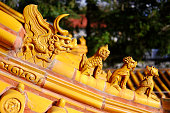 The Dragon in Buddhist Temple