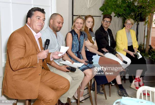 The Dragonfly Initiative's Assheton Stewart Carter Sanjay Mitra of The Marine Conservation Society BRITA's Faye Napper Lily Cole Henry Holland and...