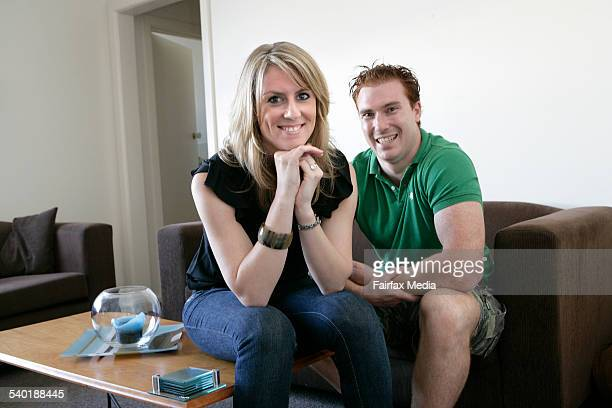 The drama of first home buying Justin Healy and Jo Harris have just bought their first home Hunter Street Malvern 9 March 2007 THE SUNDAY AGE DOMAIN...