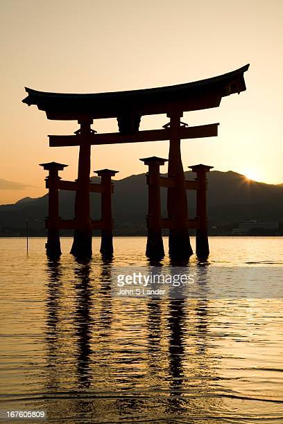 The dramatic torii of Itsukushima Shrine is one of Japan's most popular attractions The gate has existed since 1168 though the current gate dates...