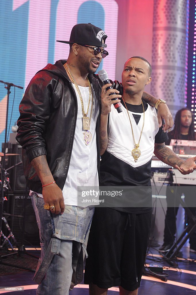 The Dream visits BET's '106 & Park' at BET Studios on May 30, 2013 in New York City.
