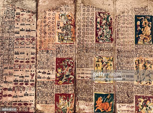 The Dresden Codex also known as the Codex Dresdensis is a preColumbian Maya book of the eleventh or twelfth century of the Yucatecan Maya in Chichen...