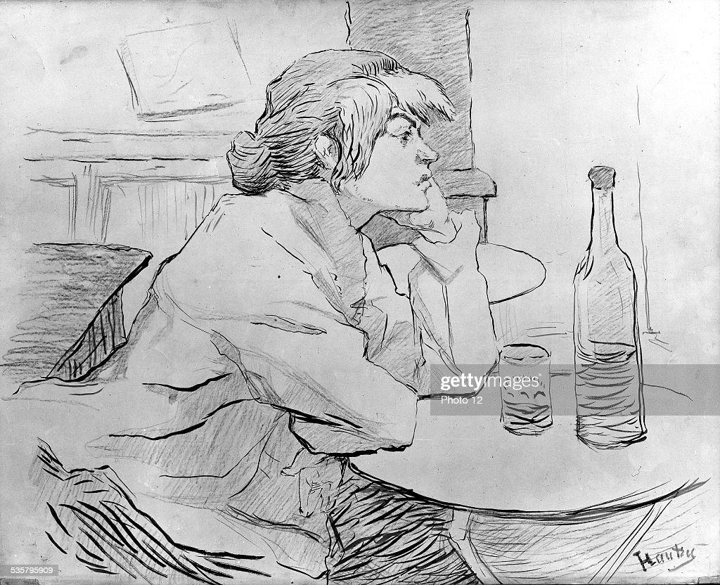 The Drinker or Hangover, 1864-1901, Henri de Toulouse Lautrec, Albi Museum, .