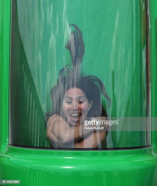 BRAMPTON ON JUNE 28 The drop is the worst On the new Oh Canada slide you are locked into a tube arms and legs crossed when the floor drops out from...