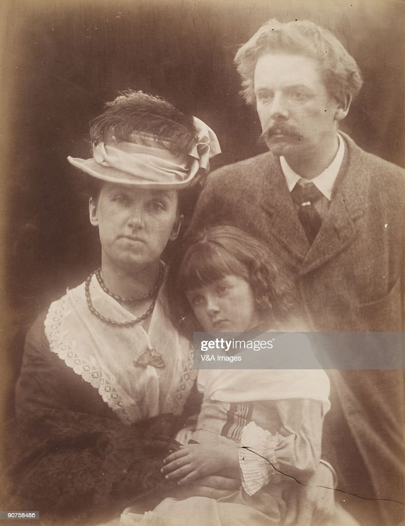 The du Maurier family 1874 by Julia Margaret Cameron