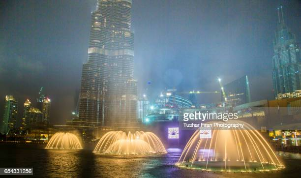 The Dubai Fountain,Burj Khalifa Dubai