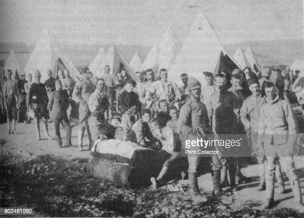 The Dublin Fusiliers Just Before Embarking in the Armoured Train Attacked and Wrecked near Chieveley by the Boers' 1902 The Second Boer War South...