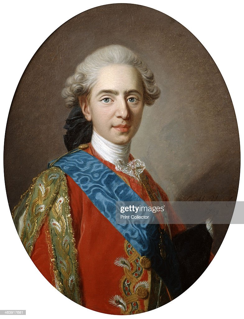 The Duc de Berry, later King Louis XVI, aged 15, c1769. Artist ...