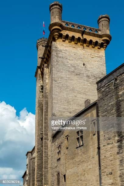 The ducal castle, Uzes, Gard, Occitanie, France