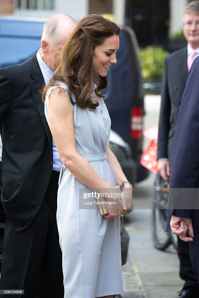 The Duchess Of Cambridge attends a Lunch In Support of the Anna Freud Centre on May 4, 2016 in London, England.