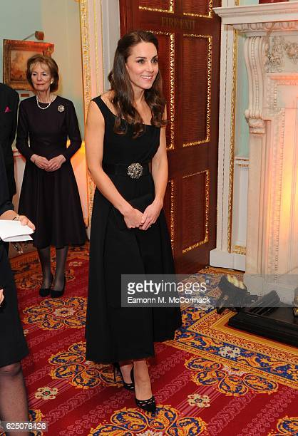 The Duchess of Cambridge attends Place2Be Wellbeing in Schools Awards at Mansion House on November 22 2016 in London United Kingdom