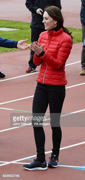 Royals at Queen Elizabeth Olympic Park : News Photo