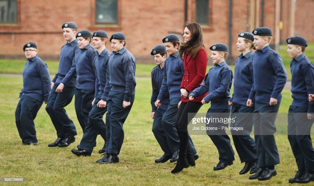 the-duchess-of-cambridge-royal-patron-and-honorary-air-commandant-of-picture-id635239896