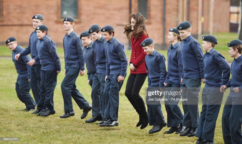 the-duchess-of-cambridge-royal-patron-and-honorary-air-commandant-of-picture-id635241722